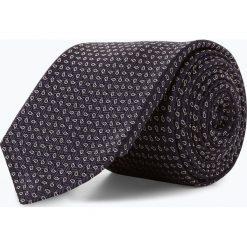 BOSS - Krawat jedwabny męski – Tie 7,5 cm, niebieski. Niebieskie krawaty męskie Boss, z jedwabiu, eleganckie. Za 299,95 zł.