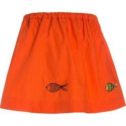 Sonia Rykiel FISCH Spódnica trapezowa orange. Brązowe spódniczki dziewczęce marki Sonia Rykiel, z bawełny, trapezowe. W wyprzedaży za 215,20 zł.