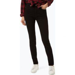Calvin Klein Jeans - Jeansy damskie, czarny. Czarne spodnie z wysokim stanem Calvin Klein Jeans, z jeansu. Za 549,95 zł.