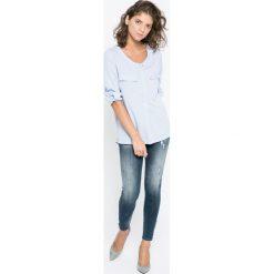 Diesel - Jeansy Skinzee-Zip. Niebieskie jeansy damskie rurki Diesel. W wyprzedaży za 529,90 zł.