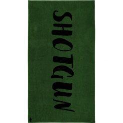 """Kąpielówki męskie: Ręcznik plażowy """"Shotgun"""" w kolorze ciemnozielonym"""