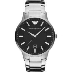 Emporio Armani - Zegarek AR2457. Czarne zegarki męskie Emporio Armani, szklane. Za 1199,00 zł.