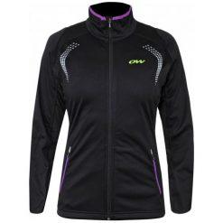 One Way Kurtka Sportowa Sling Wo Softshell Jacket Black Xs. Czarne kurtki damskie narciarskie One Way, xs, z dzianiny. Za 485,00 zł.