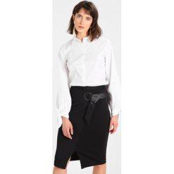 Koszule wiązane damskie: Sisley Koszula white