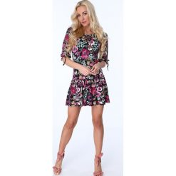 Sukienki: Sukienka w polne kwiaty multicolor 2887