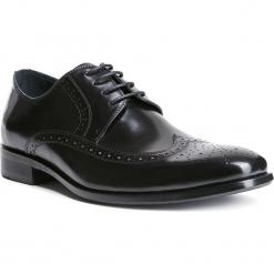 Buty męskie 84-M-800-1. Czarne buty wizytowe męskie Wittchen, z syntetyku. Za 229,00 zł.
