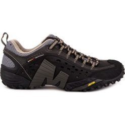 Buty trekkingowe męskie: MERRELL Buty męskie Intercept  Smooth Black r.  44.5  (J73703)