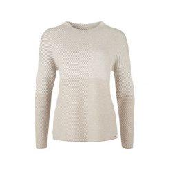 Swetry klasyczne damskie: S.Oliver Sweter Damski 38 Brązowy