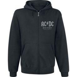 AC/DC World Tour 2015 Bluza z kapturem rozpinana czarny. Czarne bluzy męskie rozpinane AC/DC, s, z nadrukiem, z kapturem. Za 184,90 zł.