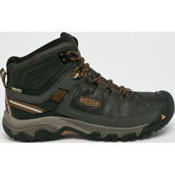 Keen - Buty Targhee III Mid. Brązowe buty trekkingowe męskie marki Keen, z materiału, outdoorowe. W wyprzedaży za 399,90 zł.