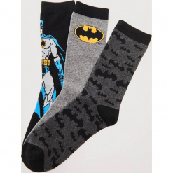 3 pack skarpet Batman - Wielobarwn. Niebieskie kapcie męskie marki Reserved. Za 35,99 zł.
