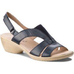 Sandały damskie: Sandały CAPRICE – 9-28708-20 Ocean Nappa 855