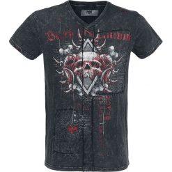 T-shirty męskie z nadrukiem: Black Premium by EMP Heavy Soul T-Shirt czarny/szary
