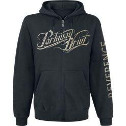 Bluzy damskie: Parkway Drive Reverence Bluza z kapturem rozpinana czarny