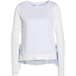Swetry klasyczne damskie: Club Monaco PALLAY Sweter white