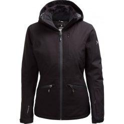 Kurtka narciarska damska KUDN604 - CZARNY - Outhorn. Czarne kurtki damskie zimowe Outhorn, m, z materiału. W wyprzedaży za 209,99 zł.