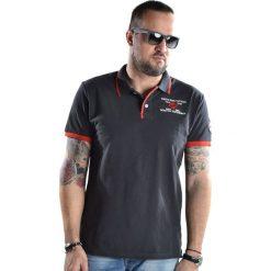 Koszulki polo: Koszulka polo w kolorze grafitowym