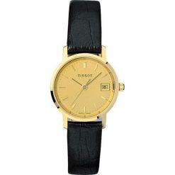 RABAT ZEGAREK TISSOT T-GOLD T71.2.114.21. Żółte zegarki męskie marki TISSOT, złote. W wyprzedaży za 3097,60 zł.