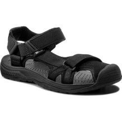 Sandały TEVA - Hurricane Toe Pro 2 1019237  Black. Czarne sandały męskie skórzane Teva. W wyprzedaży za 229,00 zł.