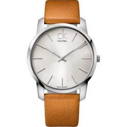 ZEGAREK CALVIN KLEIN City K2G21138. Szare zegarki męskie Calvin Klein, szklane. Za 739,00 zł.