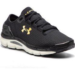 Buty UNDER ARMOUR - Ua Speedform Intake 2 3000288-003 Blk. Czarne buty do biegania męskie marki Under Armour, z materiału. W wyprzedaży za 299,00 zł.