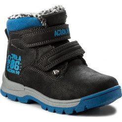 Buty zimowe chłopięce: Trapery ACTION BOY – CP07-17011-02 Czarny