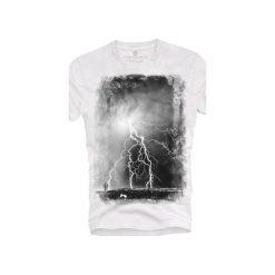 T-shirt UNDERWORLD Ring spun cotton Burza. Szare t-shirty męskie z nadrukiem marki Underworld, m, z bawełny. Za 59,99 zł.