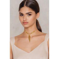 Naszyjniki damskie: NA-KD Accessories Naszyjnik z wisiorkami – Gold