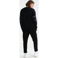 Kardigany męskie: AllSaints HAUS CREW OVERSIZED FIT Sweter black