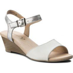 Sandały damskie: Sandały CAPRICE - 9-28213-20 White/Silver 191
