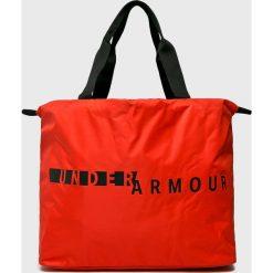 Under Armour - Torebka. Czerwone torebki klasyczne damskie Under Armour, z materiału, duże. Za 139,90 zł.