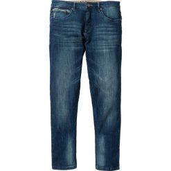 """Dżinsy ze stretchem Slim Fit Straight bonprix niebieski """"used"""". Niebieskie jeansy męskie relaxed fit marki bonprix. Za 109,99 zł."""