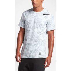 Nike Koszulka męska Men's Pro Hypercool Top biała r. M (828180 100). Białe koszulki sportowe męskie marki Adidas, l, z jersey, do piłki nożnej. Za 124,45 zł.