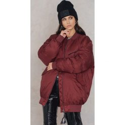 Bomberki damskie: Hunkydory Kurtka oversize Cool - Red
