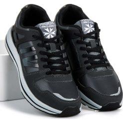 Wiązane buty sportowe MARICELIA. Szare buty skate męskie AX BOXING. Za 109,00 zł.