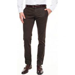 Spodnie bimont 214 brąz 0001 slim fit. Szare rurki męskie marki Recman, m, z długim rękawem. Za 149,99 zł.
