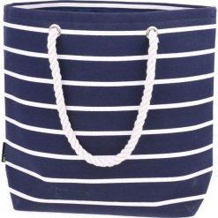 Torba plażowa LOTUKO NAVY/WHITE (57657). Białe torby plażowe AQUAWAVE. Za 36,63 zł.