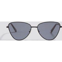 Le Specs Okulary przeciwsłoneczne Echo - Black. Czarne okulary przeciwsłoneczne damskie aviatory Le Specs. Za 283,95 zł.