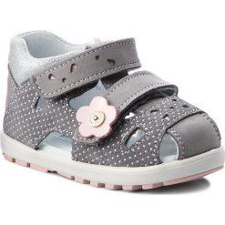 Sandały dziewczęce: Sandały BARTEK – 11695-3/1G7 Szary