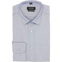 Koszula bexley 2632 długi rękaw slim fit niebieski. Szare koszule męskie slim marki Recman, m, z długim rękawem. Za 139,00 zł.