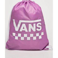 Vans - Plecak. Różowe plecaki damskie Vans, z poliesteru. W wyprzedaży za 49,90 zł.