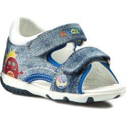 Sandały GEOX - B Sand. Elba B. B B62L8B 013BC C4243 Morski/Kolorowy. Niebieskie sandały męskie skórzane marki Geox. W wyprzedaży za 139,00 zł.