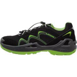 Lowa INNOX GTX JUNIOR Obuwie hikingowe schwarz/limone. Czarne buty sportowe chłopięce Lowa, z materiału, outdoorowe. Za 389,00 zł.