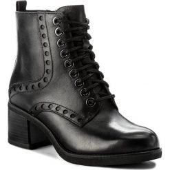 Botki TAMARIS - 1-25124-39 Black 001. Szare buty zimowe damskie marki Tamaris, z materiału, na sznurówki. W wyprzedaży za 289,00 zł.