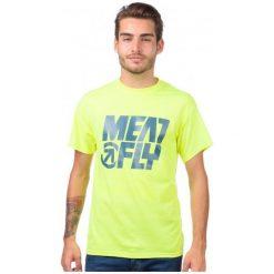 T-shirty męskie: Meatfly T-Shirt Męski S Żółty