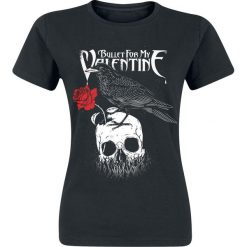 Bluzki asymetryczne: Bullet For My Valentine Raven Koszulka damska czarny