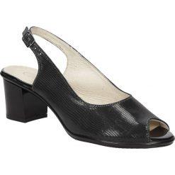 SANDAŁY CASU 3929. Czarne sandały damskie Casu. Za 109,99 zł.