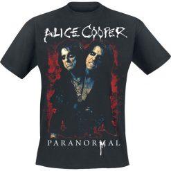 T-shirty męskie: Alice Cooper Paranormal Splatter T-Shirt czarny