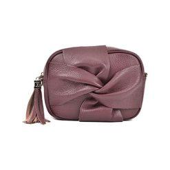 Torebka w kolorze bordowym - (S)21 x (W)16 x (G)7 cm. Brązowe torebki klasyczne damskie Bestsellers bags, w paski, z materiału. W wyprzedaży za 199,95 zł.