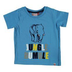 """T-shirty chłopięce z nadrukiem: Koszulka """"Tyler"""" w kolorze niebieskim"""